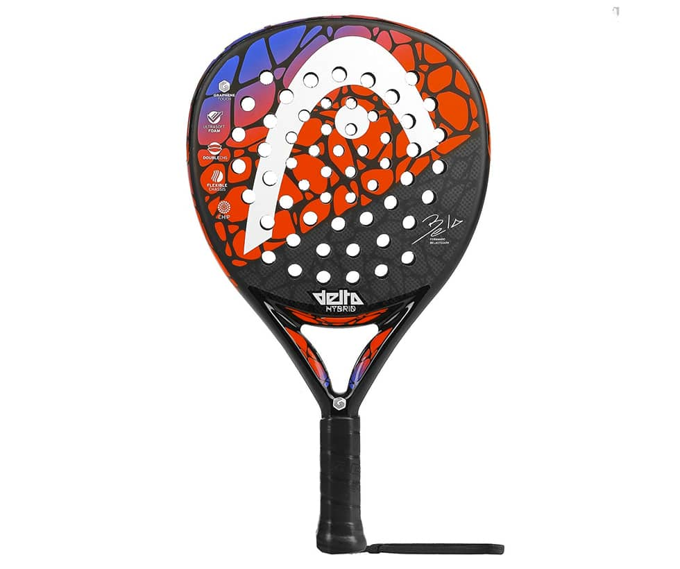 Acheter raquette padel head graphene touch delta hybrid pas cher